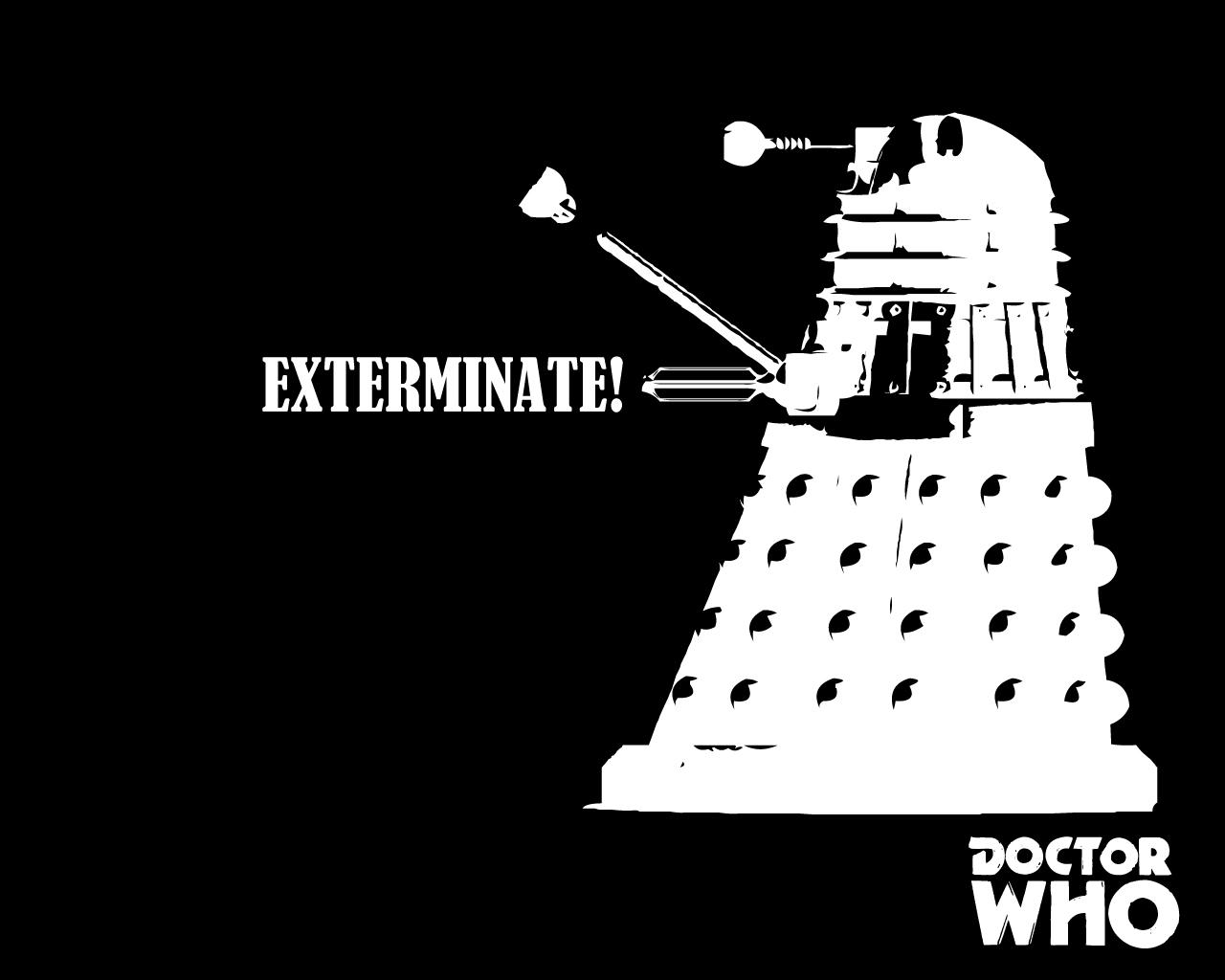 Doctor Who Wallpaper Dalek Exterminate Doctor Who Dalek Wallp...