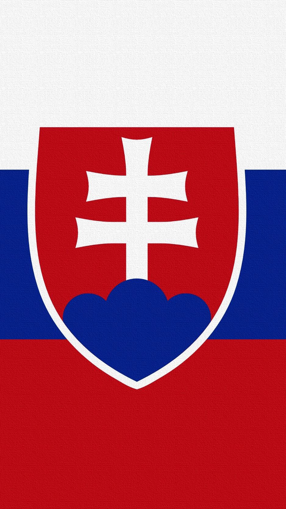 Download wallpaper 938x1668 slovakia flag symbols iphone 876s 938x1668