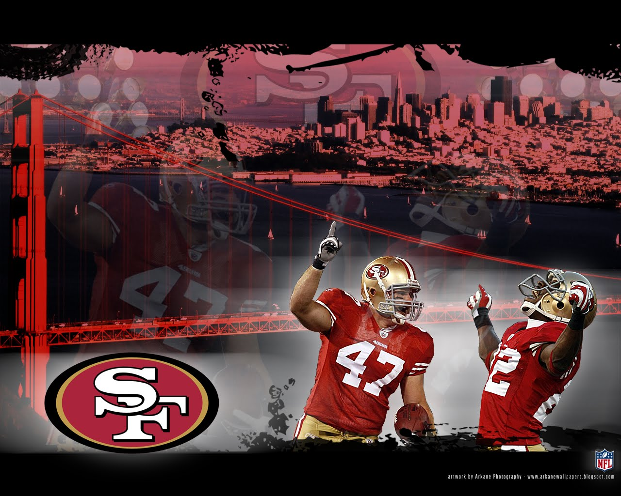 New San Francisco 49ers background San Francisco 49ers wallpapers 1280x1024