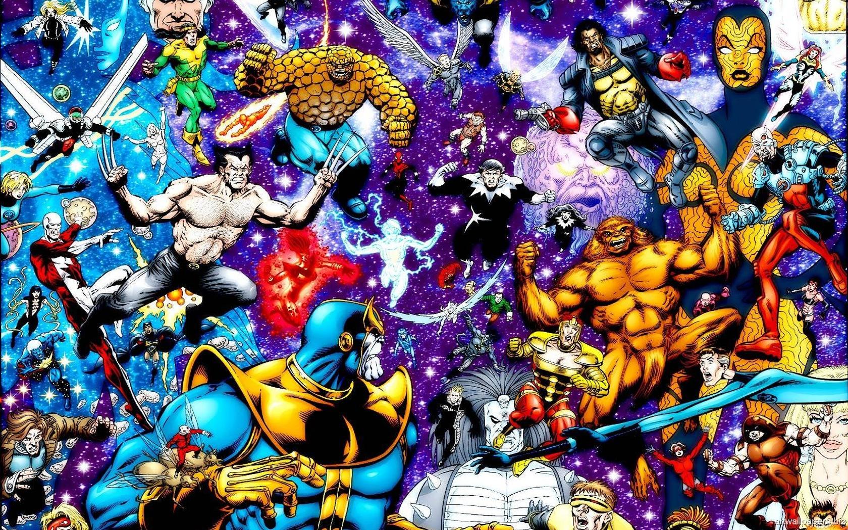 Comic Art Wallpapers - WallpaperSafari