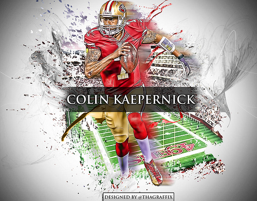 Colin Kaepernick wallpaper Flickr   Photo Sharing 500x391