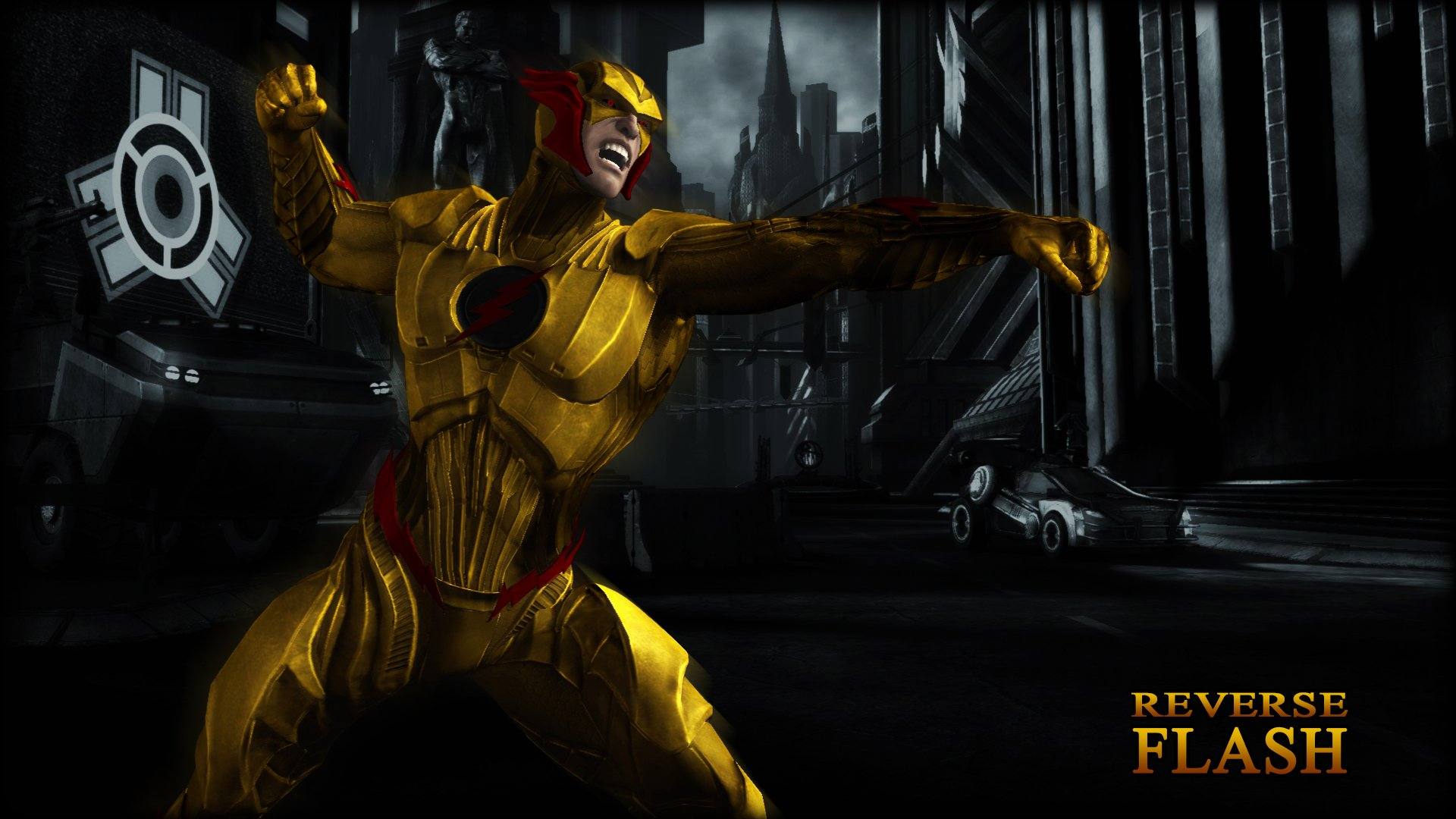 48 Reverse Flash Hd Wallpaper On Wallpapersafari