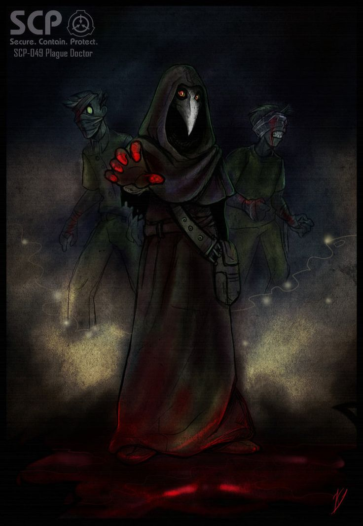 SCP 049 Plague Doctor by Klar Jezebeth 736x1067
