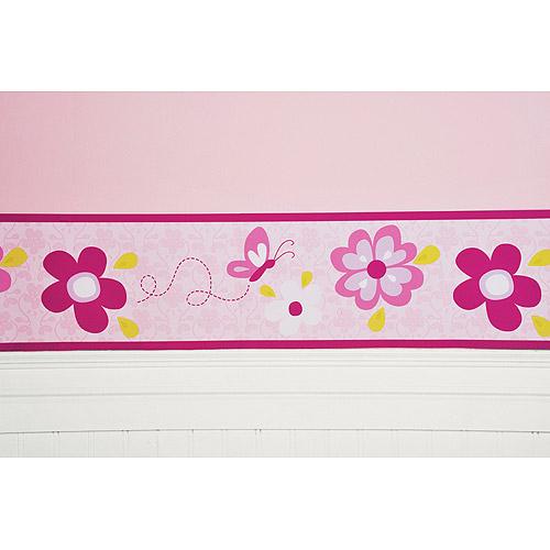 50+] Girls Wallpaper Borders for Bedrooms on WallpaperSafari