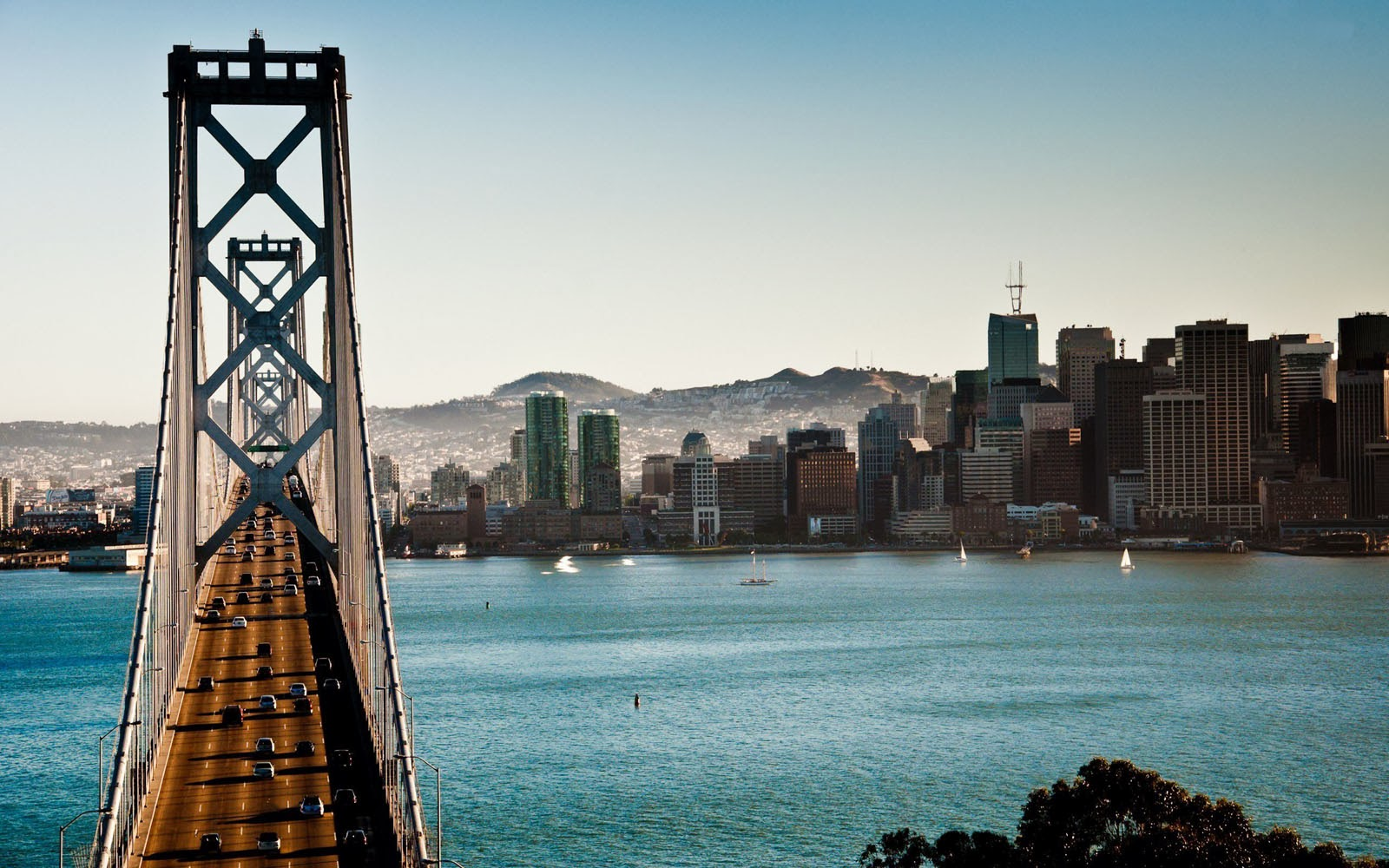 Tag San Francisco Bay Bridge Wallpapers BackgroundsPhotos Images 1600x1000