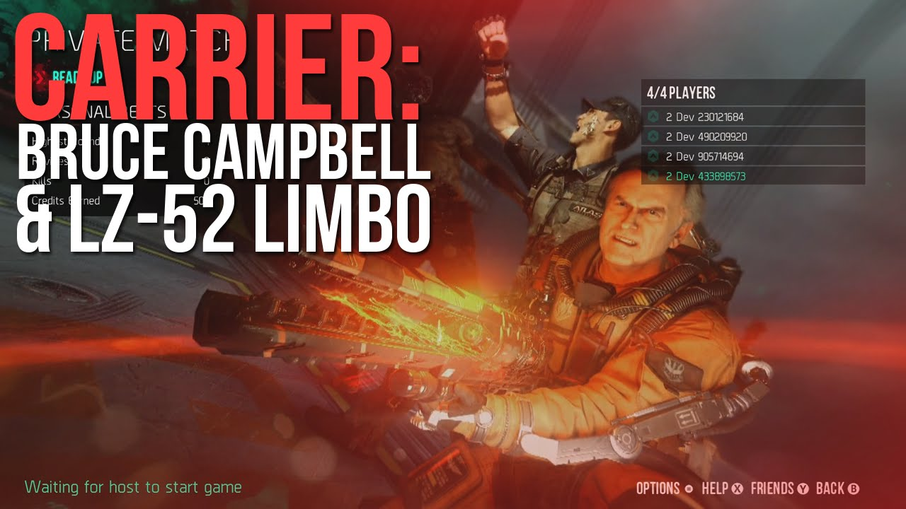 download Exo Zombies Carrier w Bruce Campbell LZ 52 Limbo 1280x720