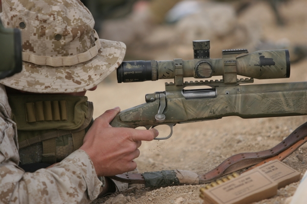 marine sniper wallpaper