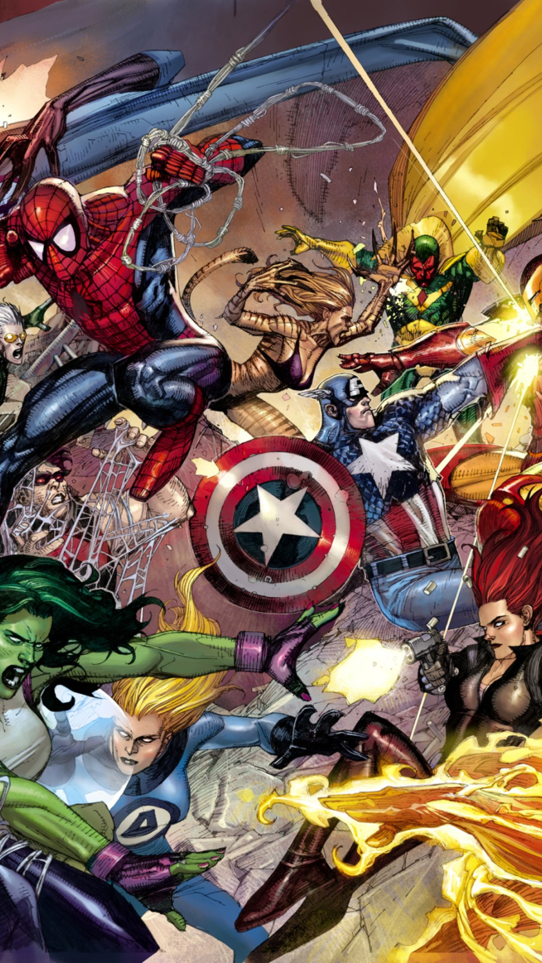Marvel Wallpapers for Iphone HD 1080x1920