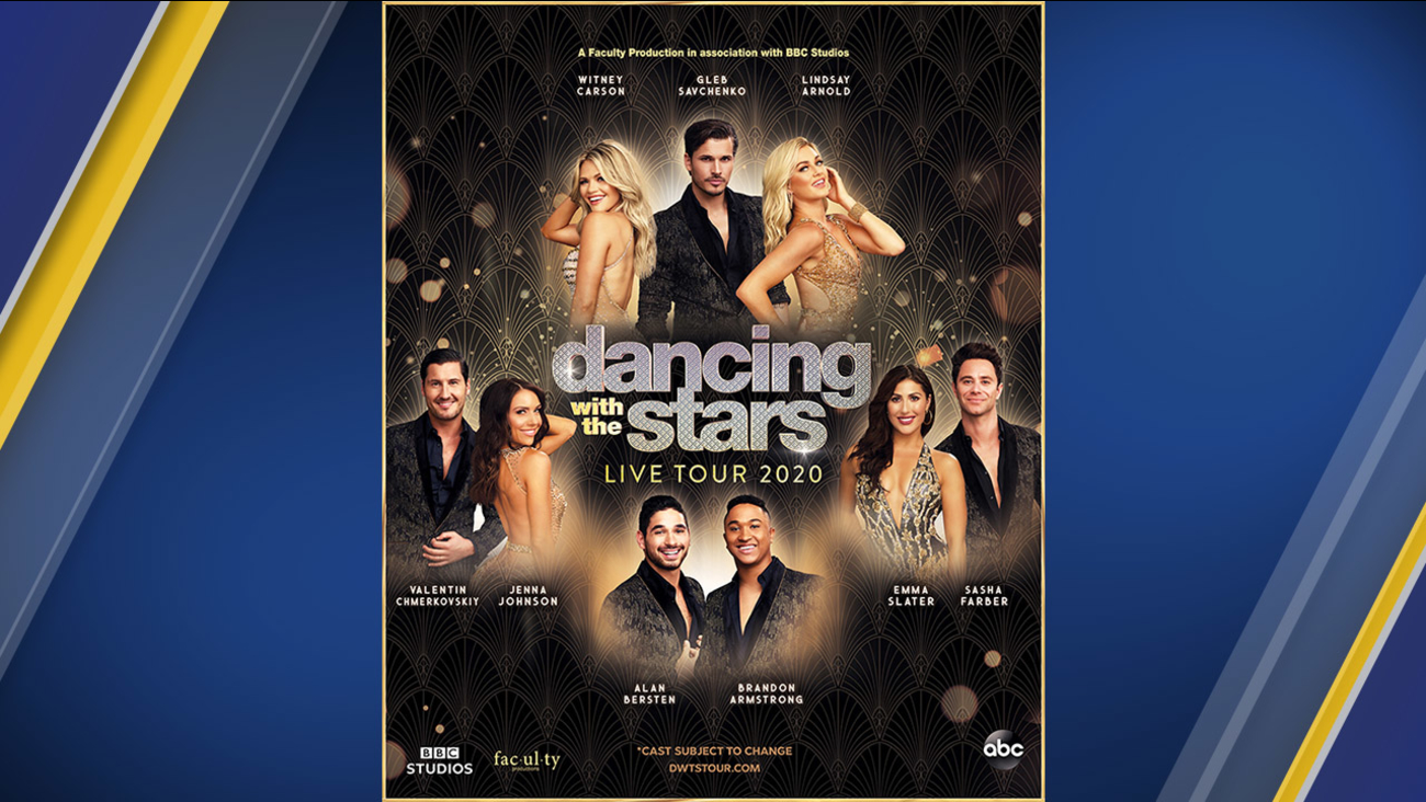 Dancing with the Stars Live Tour 2020 dates announced abc7com 1300x732
