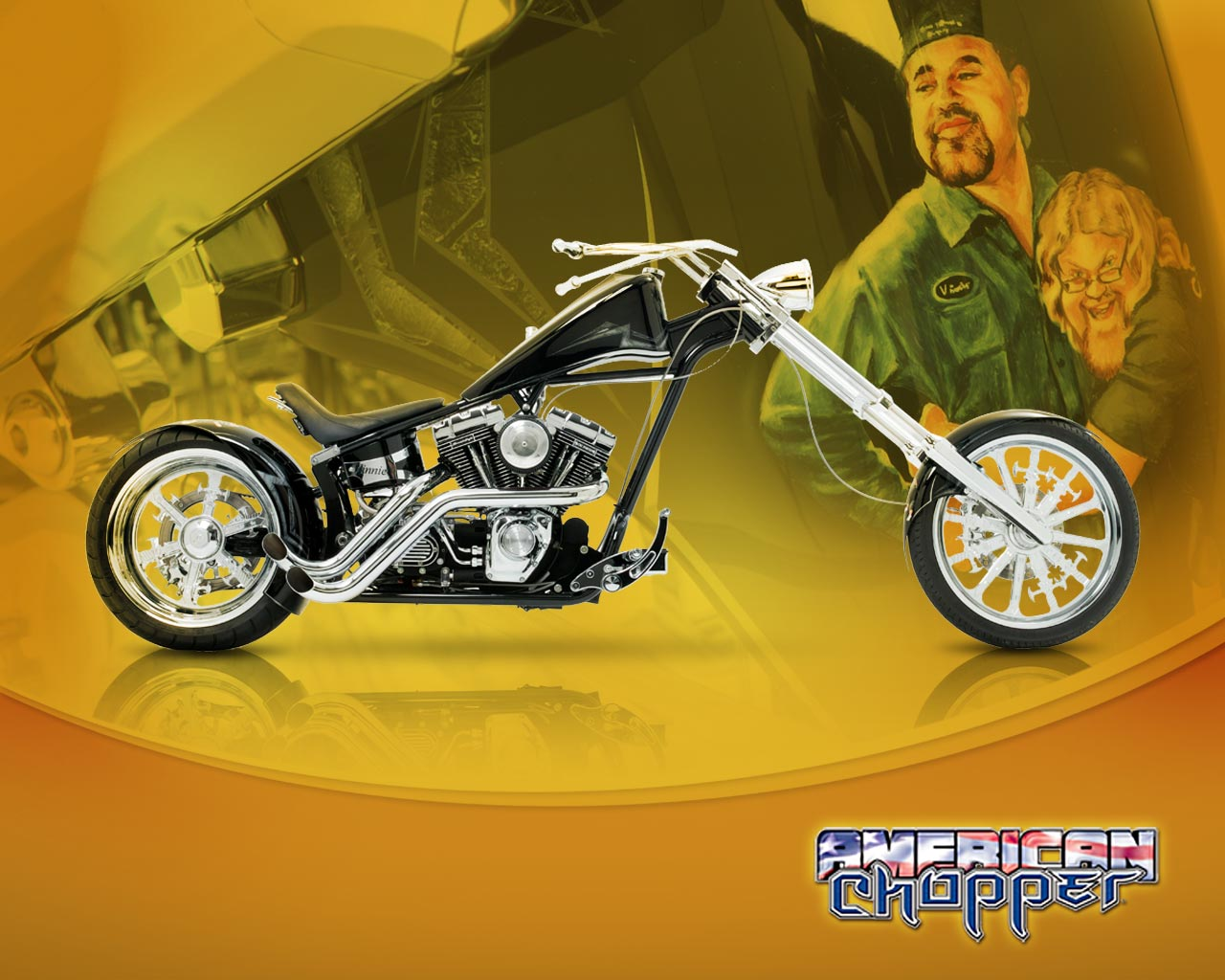 American chopper   Orange County Choppers Wallpaper 124420 1280x1024