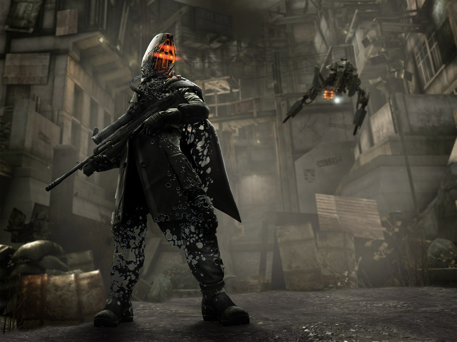 Helghast Sniper Wallpapers Cartoon Anime Wallpapers Desktop Dream 1600x1200