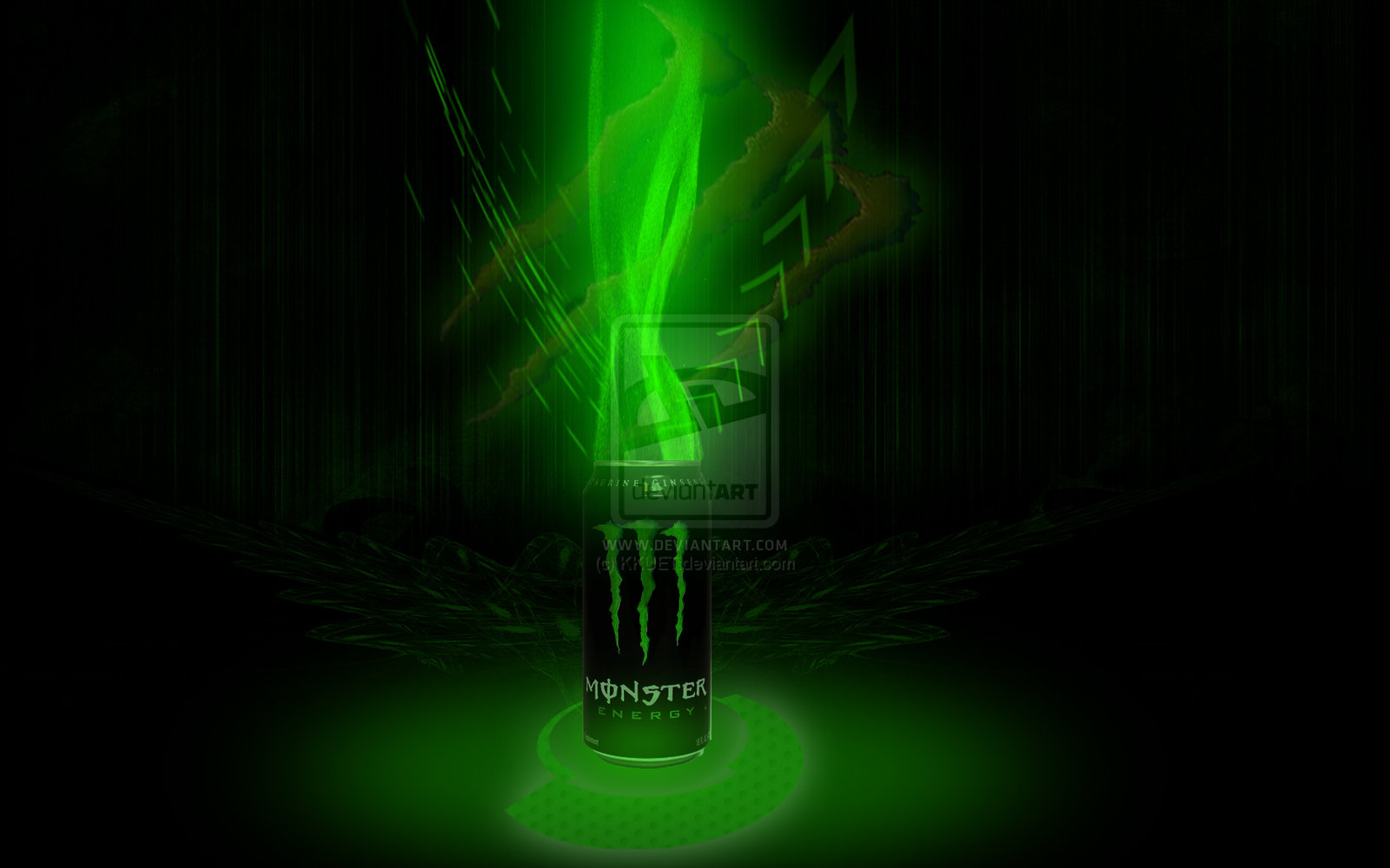 Monster Energy Wallpaper 1600x1000 Monster Energy Drink By Kkuet 1600x1000