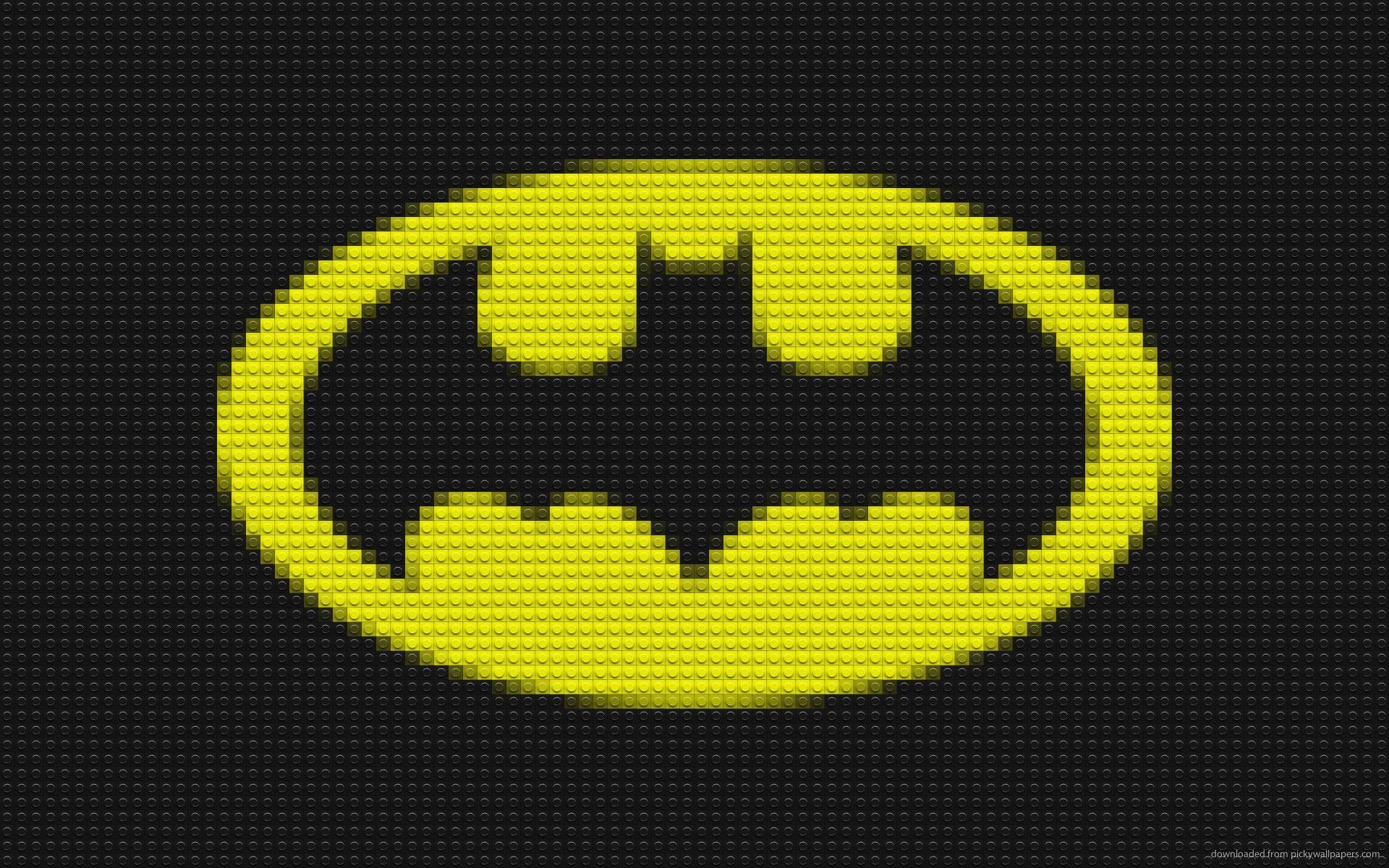 Lego Batman Logo wallpaper 1920x1200