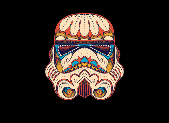 Sugar Skull Stormtrooper By Ktownjeff HD Walls Find Wallpapers 550x400
