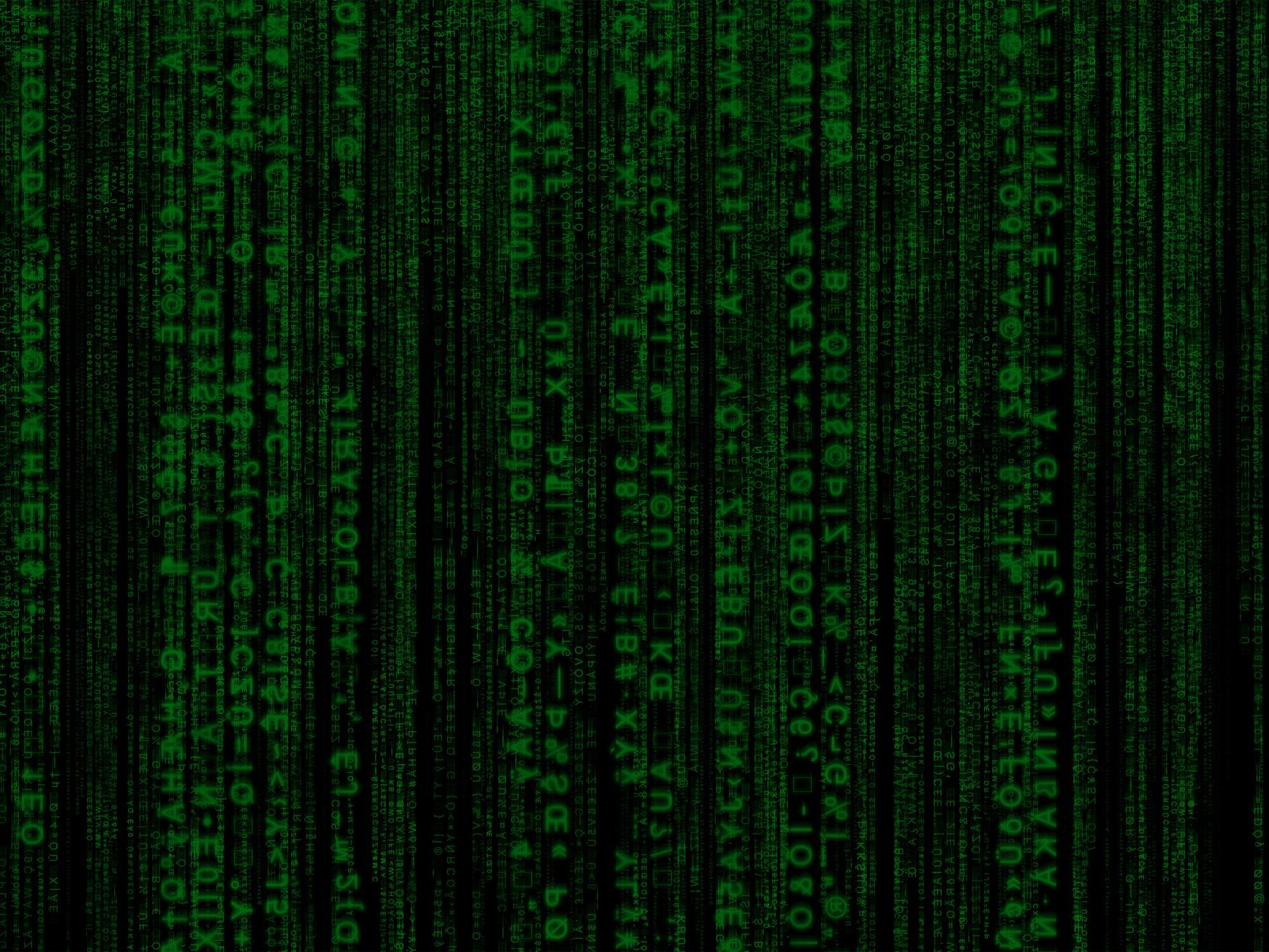 Matrix Code Wallpaper by Big Bohn 2000x1500