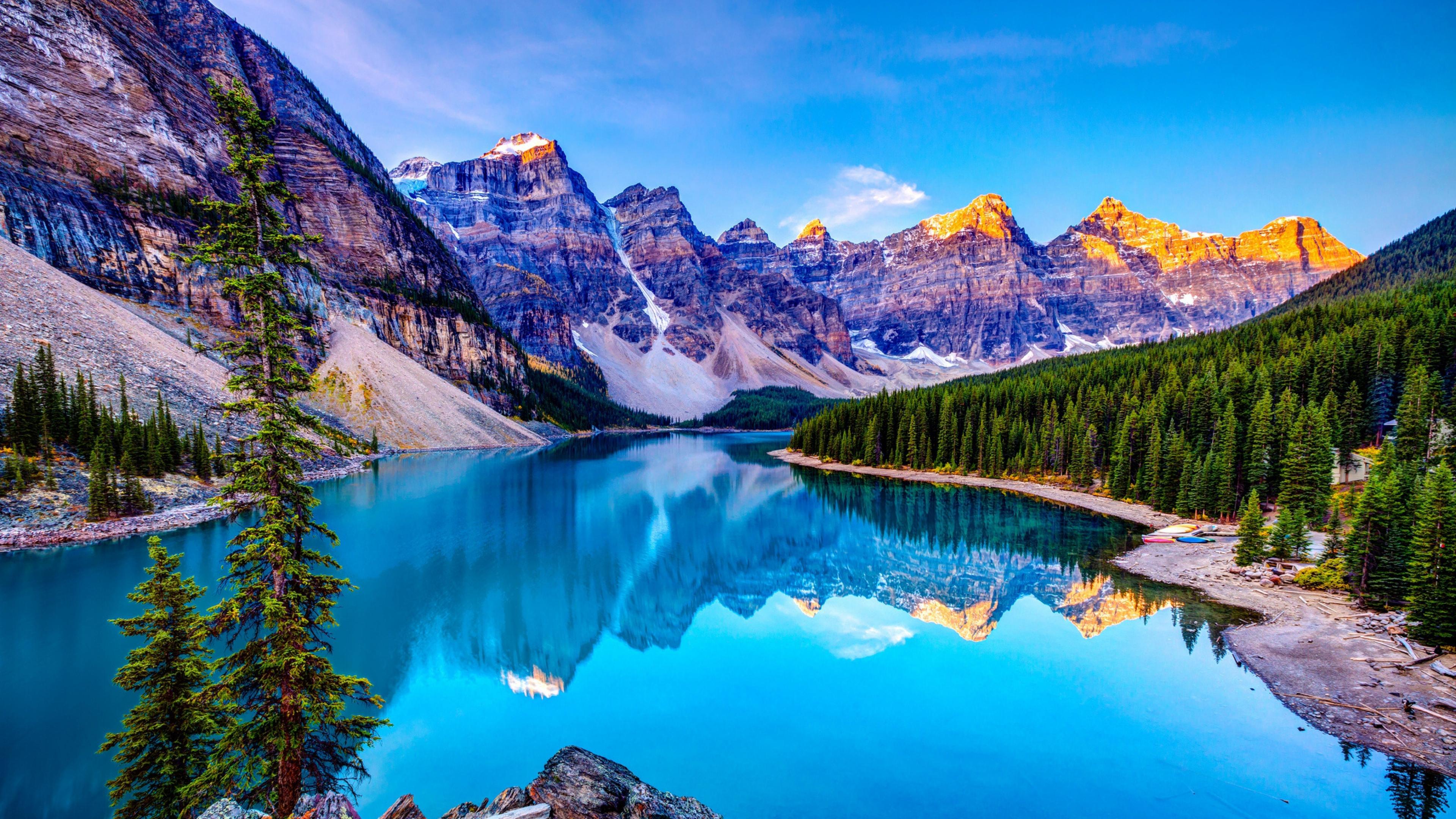 4k wallpaper 3840x2160 lake wallpapersafari - Nature wallpaper 4k iphone ...