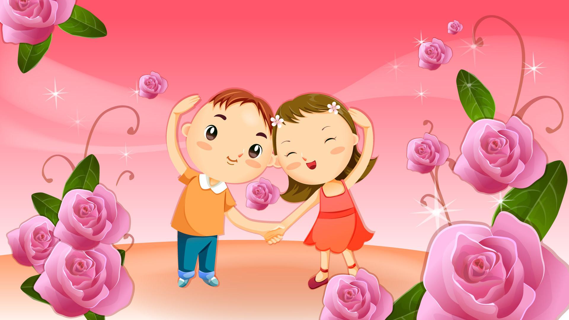 Cute Cartoon Desktop Wallpapers - WallpaperSafari