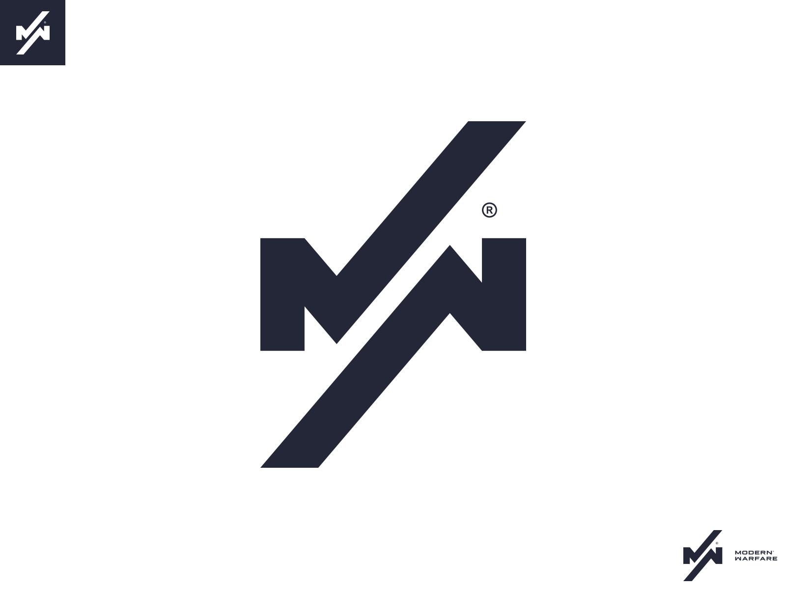 Call of Duty Modern Warfare Logo Concept by Jimper on Dribbble 1600x1200