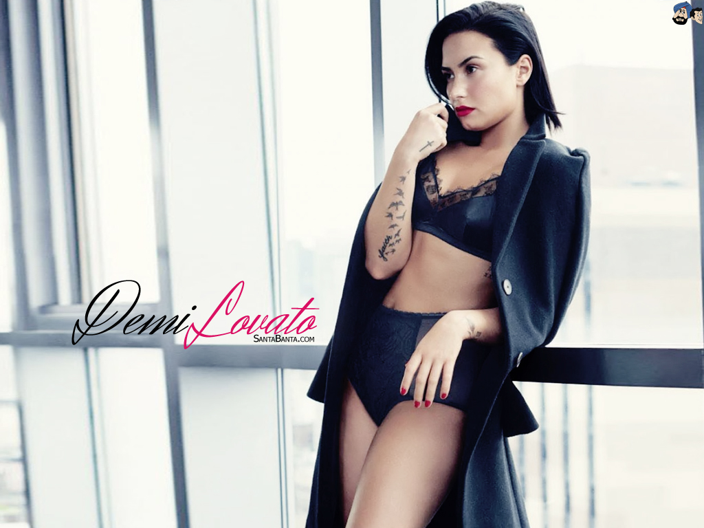 demi lovato wallpaper 1024x768