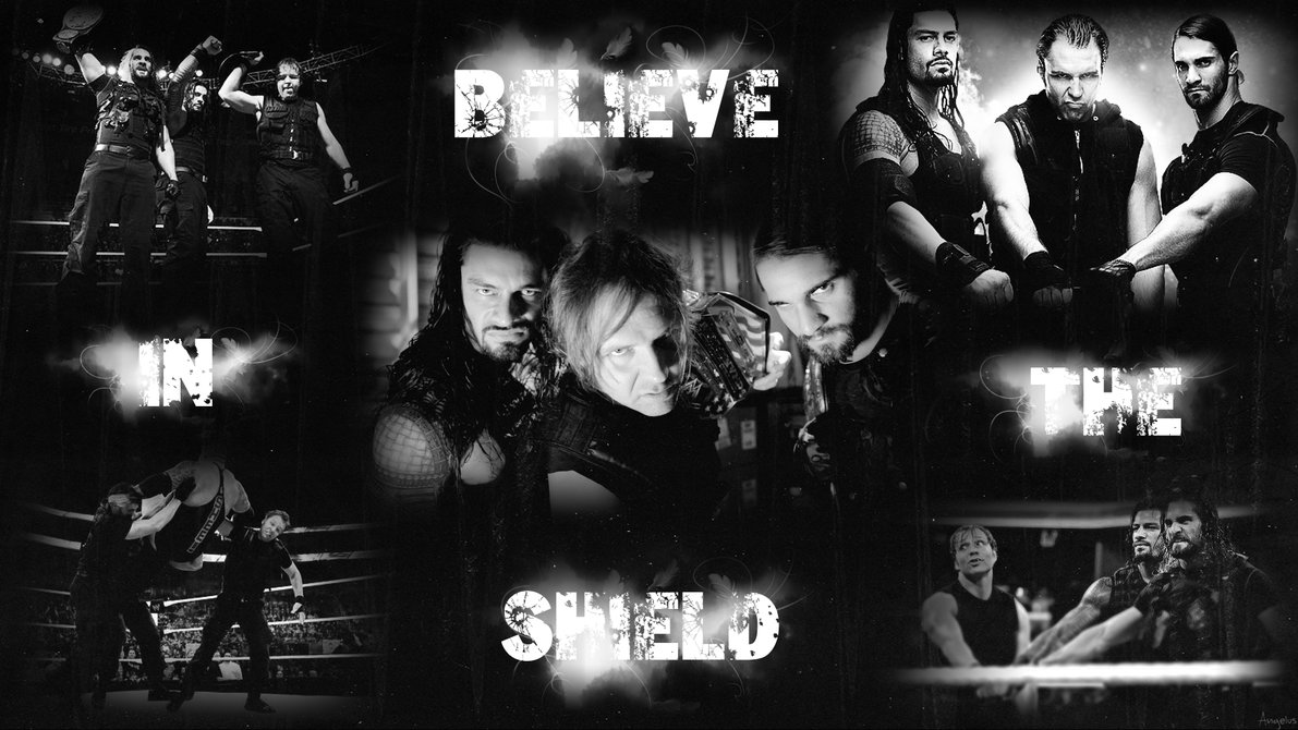 Believe In The Shield   WWE Wallpaper 1920x1080 by Angelus23 on 1191x670