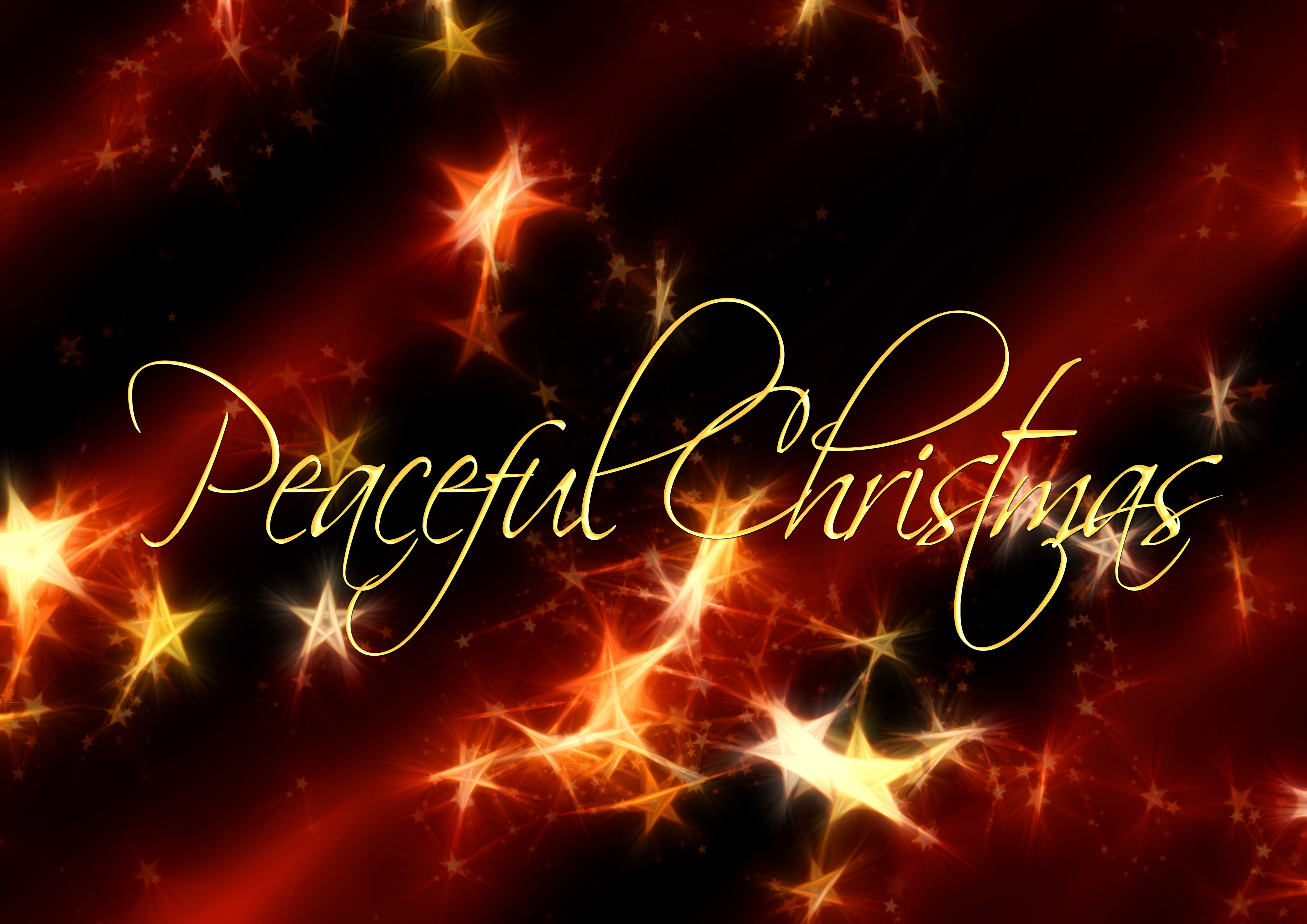 peaceful christmas wallpaper background image 5209x3683