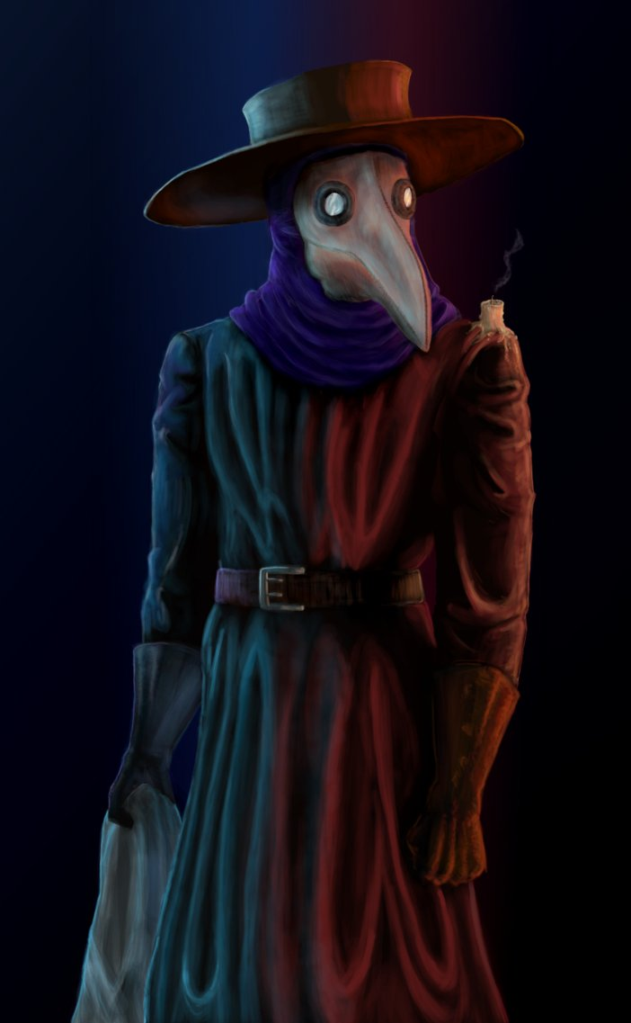 Plague Doctor by Sitting Brain 702x1137