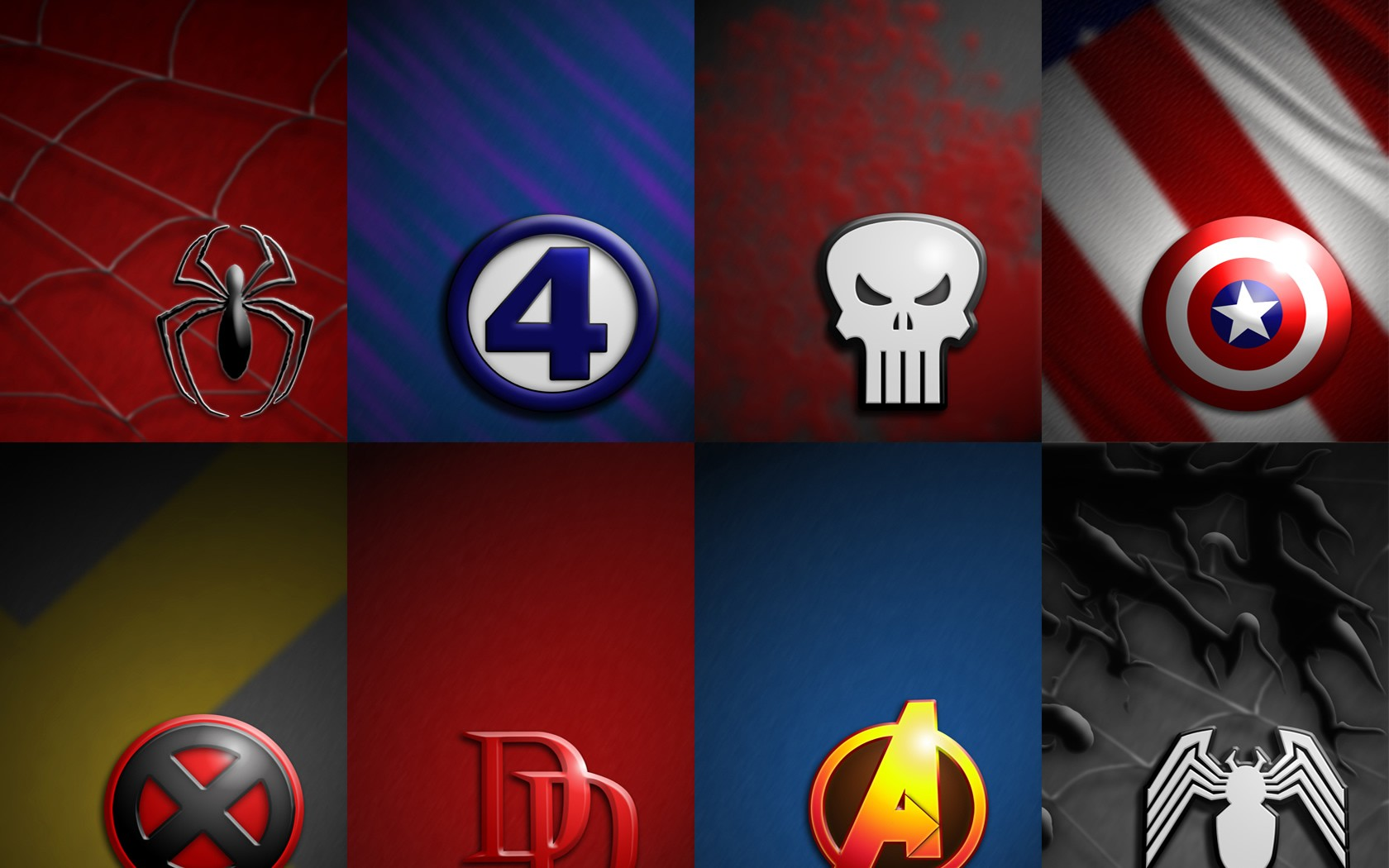 Marvel Outfits Wallpapers Marvel Outfits Myspace Backgrounds Marvel 1680x1050