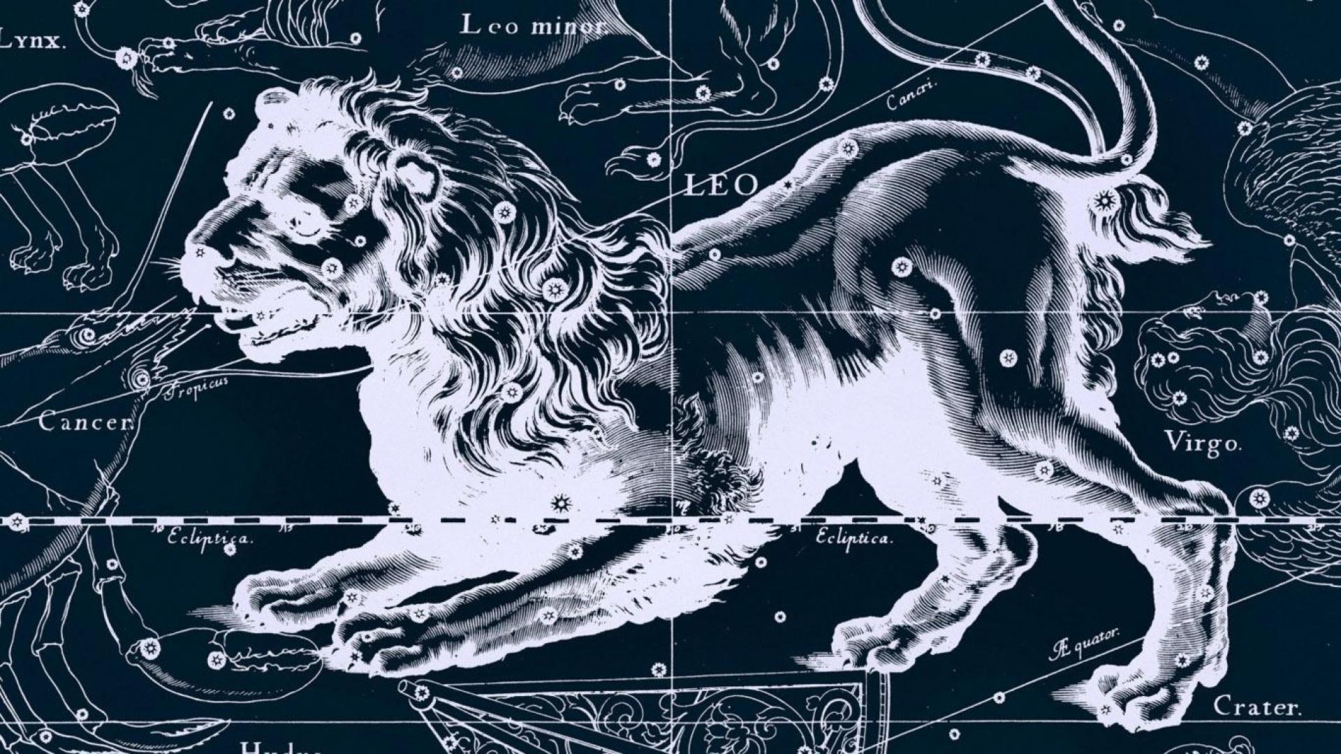 Astrology Leo   Wallpaper High Definition High Quality Widescreen 1920x1080