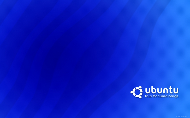 ubuntu blue wallpaper by neo74 cool blue wallpapers 1440x900 wallpaper 728x455