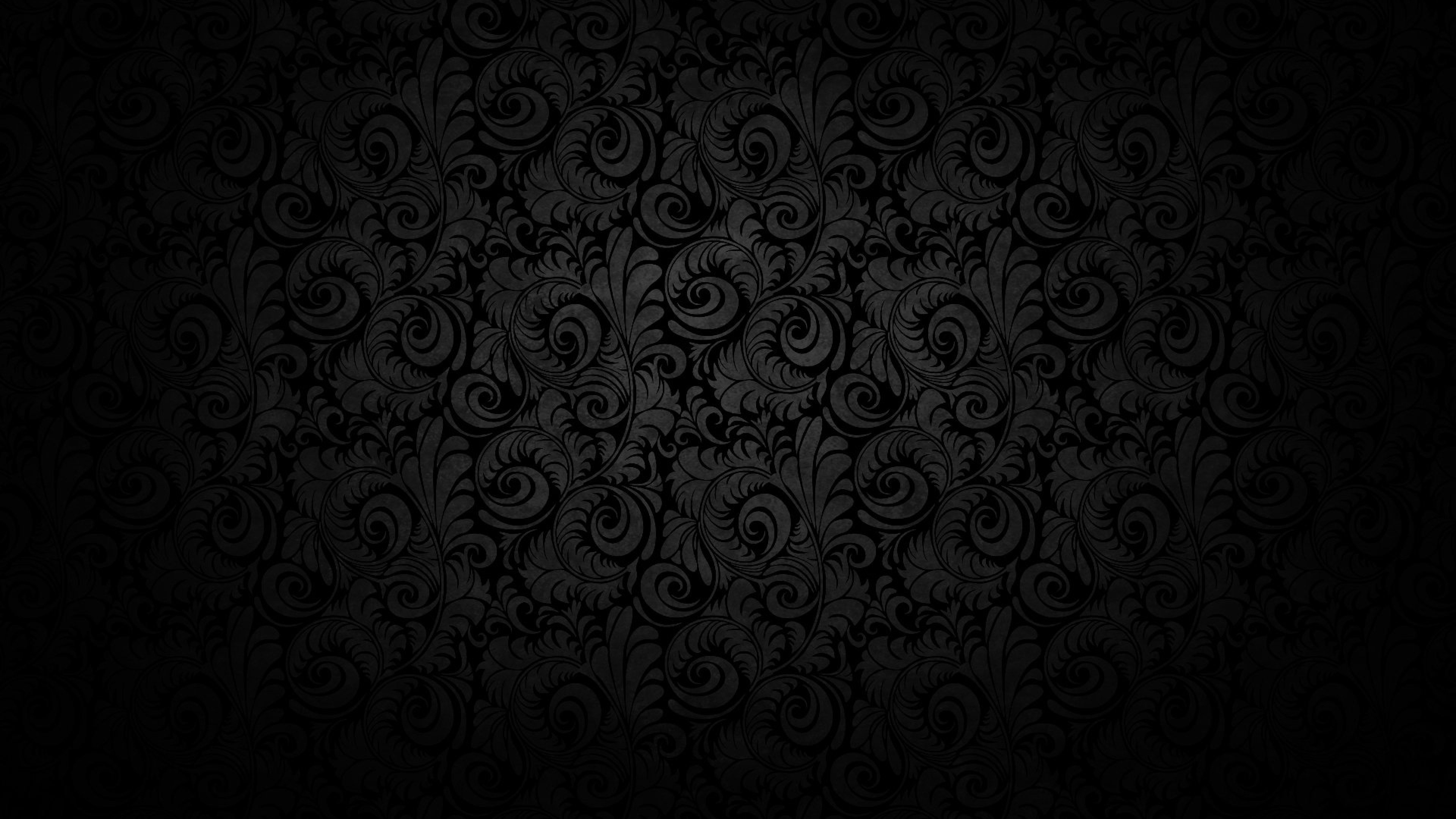 4k dark wallpaper wallpapersafari for Dark pattern background