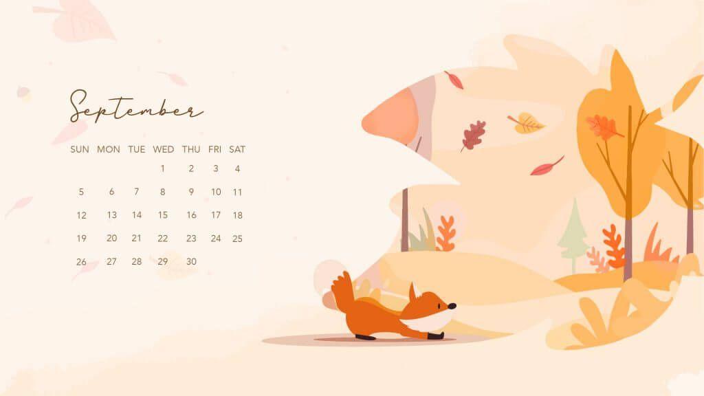 September 2021 Wallpaper Calendar Desktop Templates 1024x576