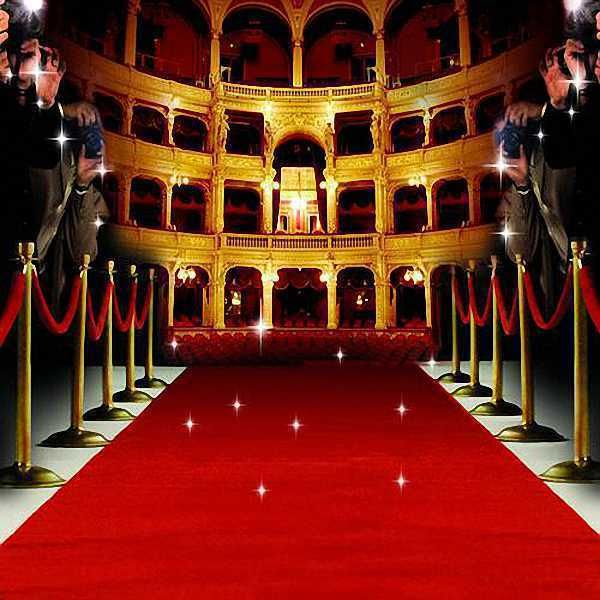 Red Carpet 10x10 CP Backdrop Computer Painted Scenic Background 600x600