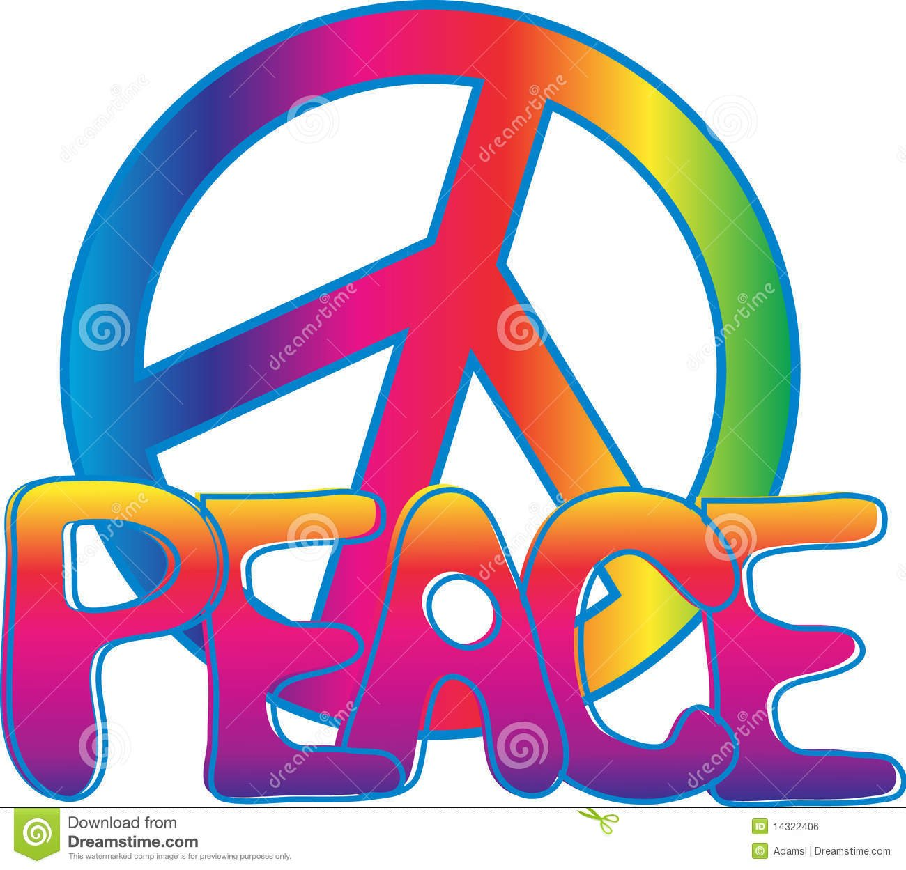 Colorful Peace Signs Wallpaper WallpaperSafari