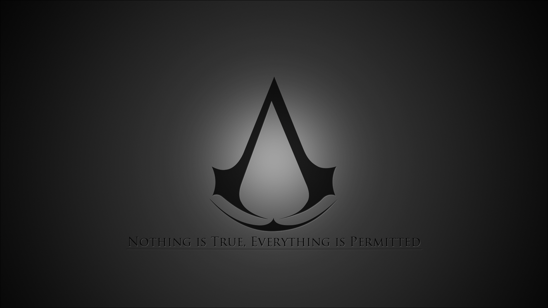 The Assassins Creed motto wallpaper   690975 1920x1080