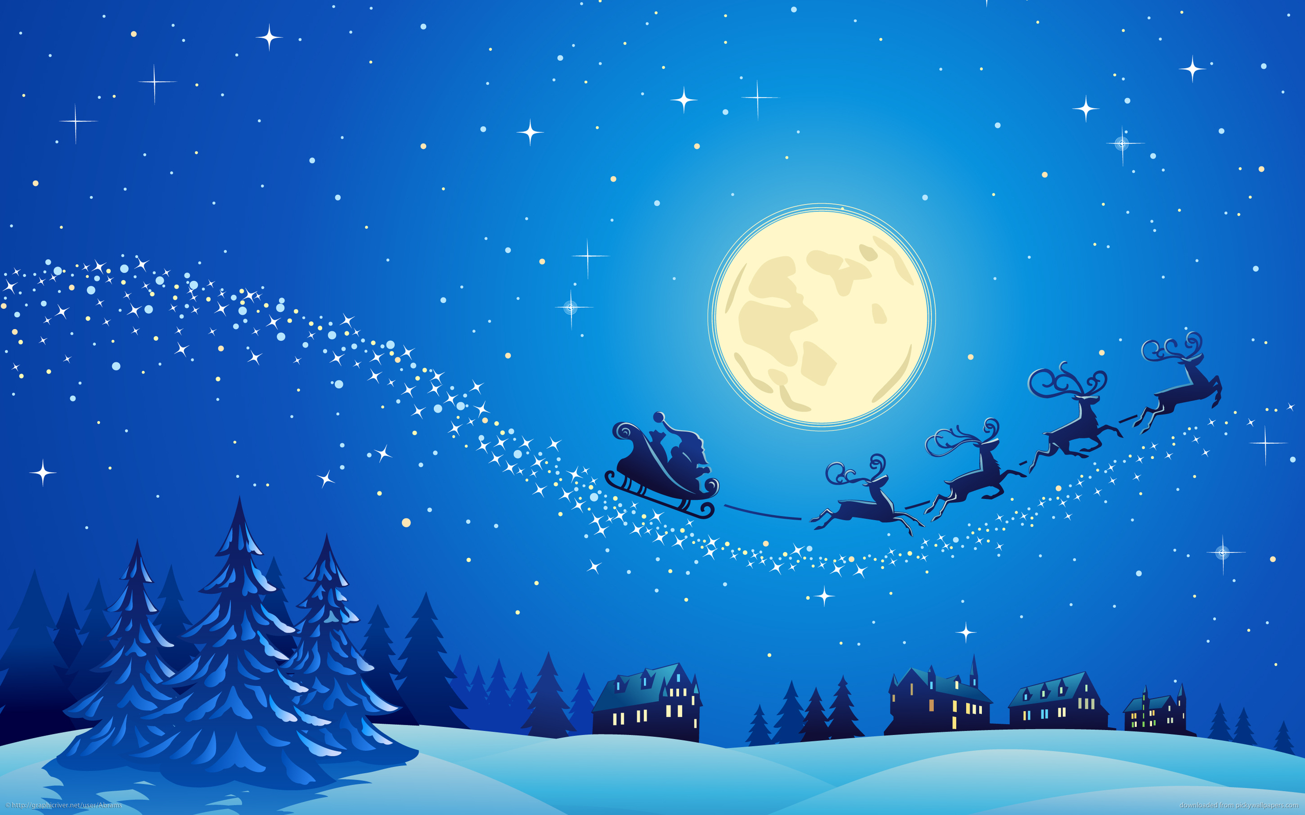 11 winter christmas 12 winter christmas tree frost 13 vector 2560x1600