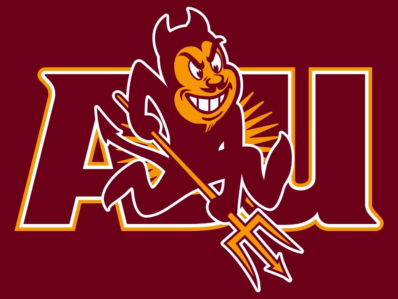 Pin Arizona State University Sun Devil Logo 1365x1024