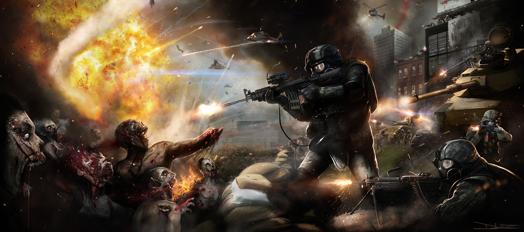 Awesome Military Wallpaper Background 31243 2000x888