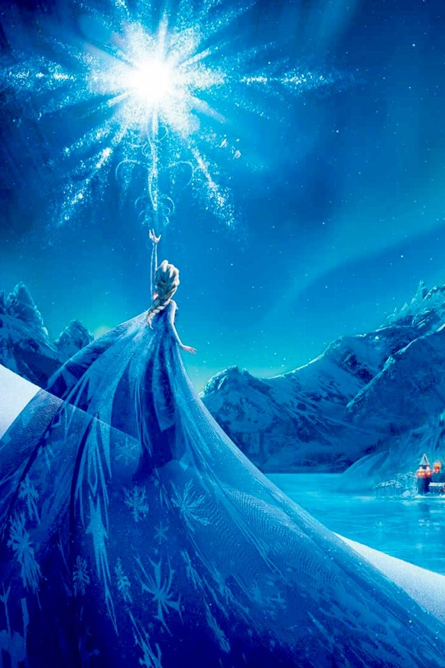 Frozen 2013 iPhone 4 Wallpaper and iPhone 4S Wallpaper 640x960