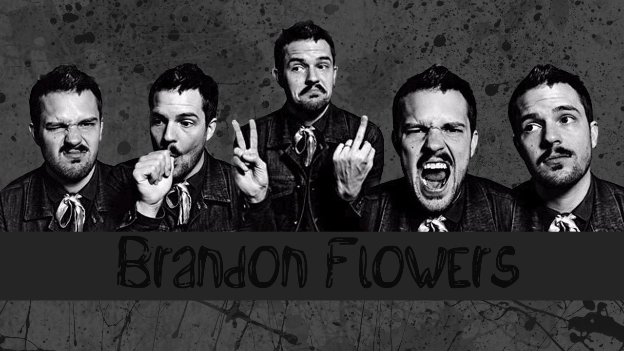 Brandon Flowers wallpaper   Brandon Flowers Wallpaper 21884932 1280x720