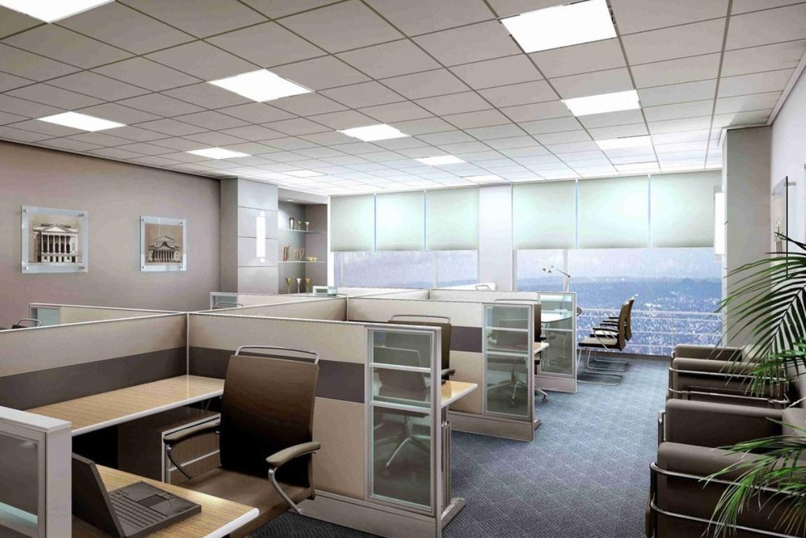 Home Office Design Variety of 3D Office Design 3d interior design 1155x771