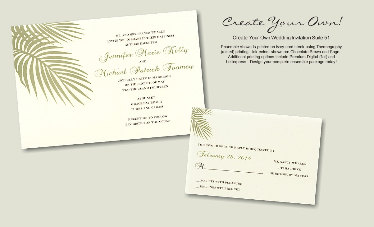 Name Design Your Own Wedding Invitations Jpg Resolution Wallpaper 1204x730