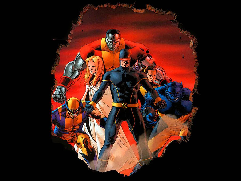 x men comic wallpaper