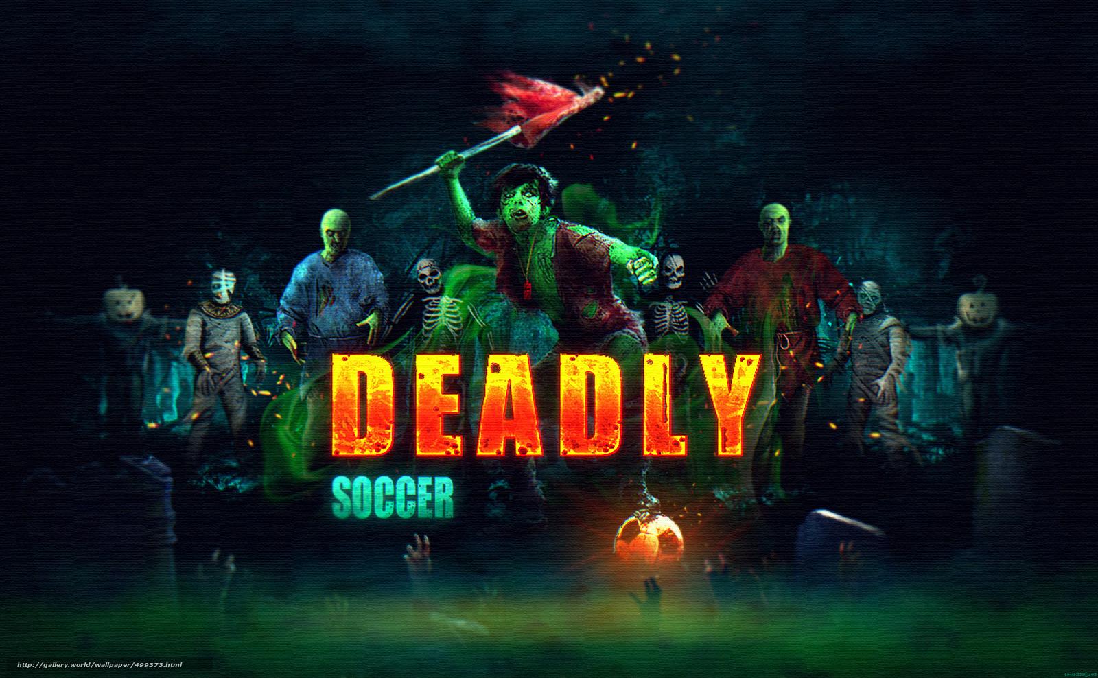 Download wallpaper dimadiz deadly soccer iphone ipad games 1600x988