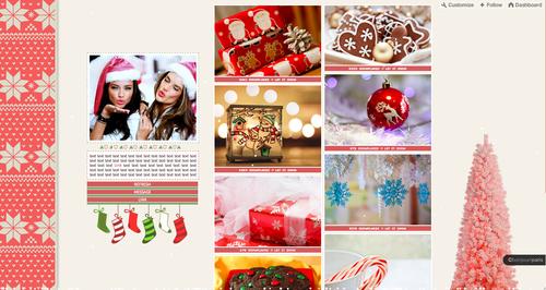 Christmas theme 500x266