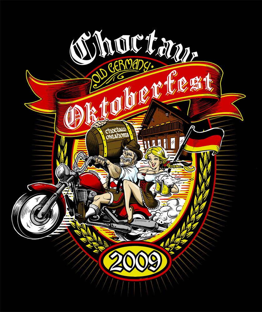 Oktoberfest T shirt design by heckthor 840x1000