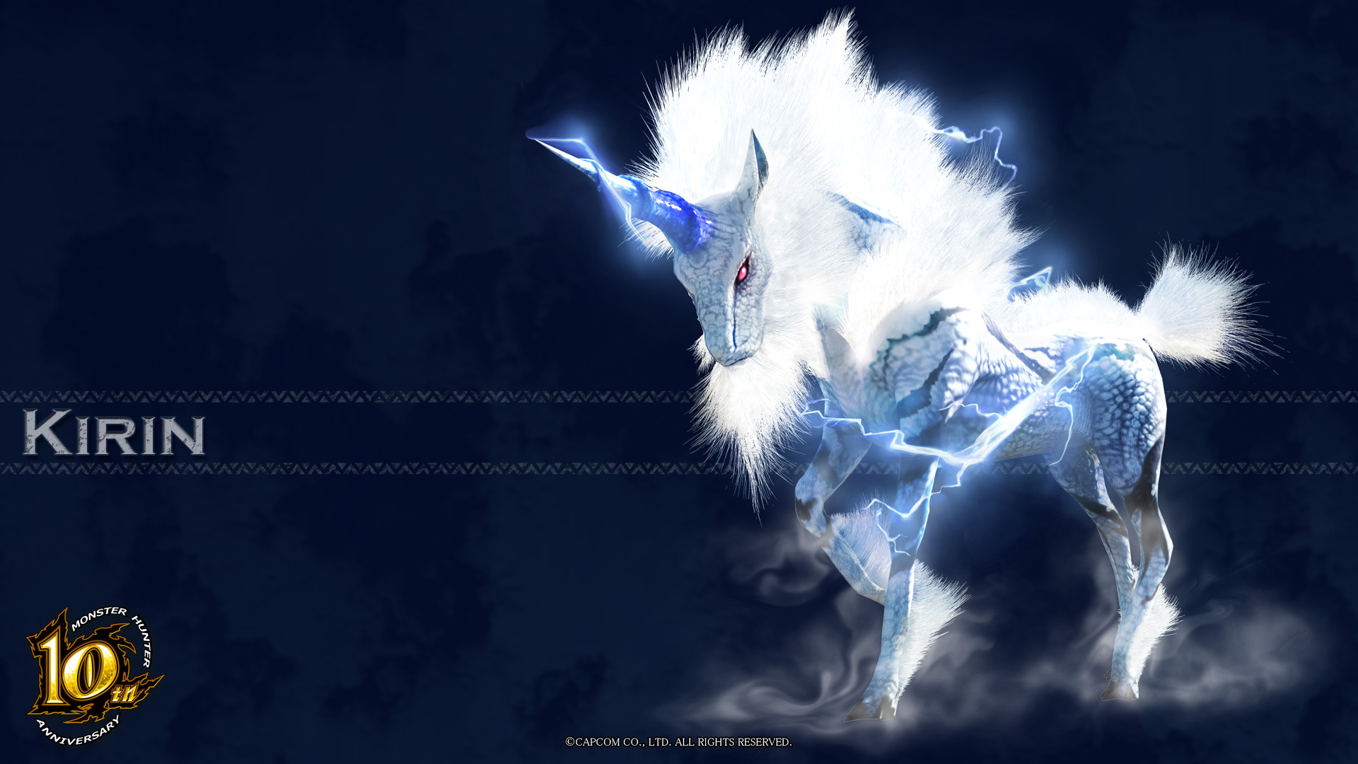 Image   MH 10th Anniversary Kirin Wallpaper 001jpg   The Monster 1920x1080