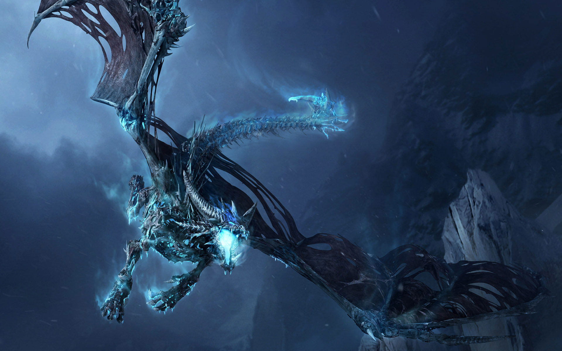 Dragon Frost Dragon Widescreen Wallpaper 1920x1200