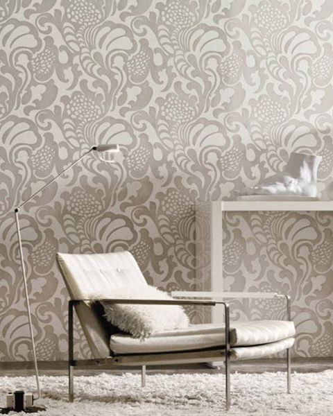 Librarian Tells All Flocked Wallpaper for Your Swanky Bachelorette 480x600