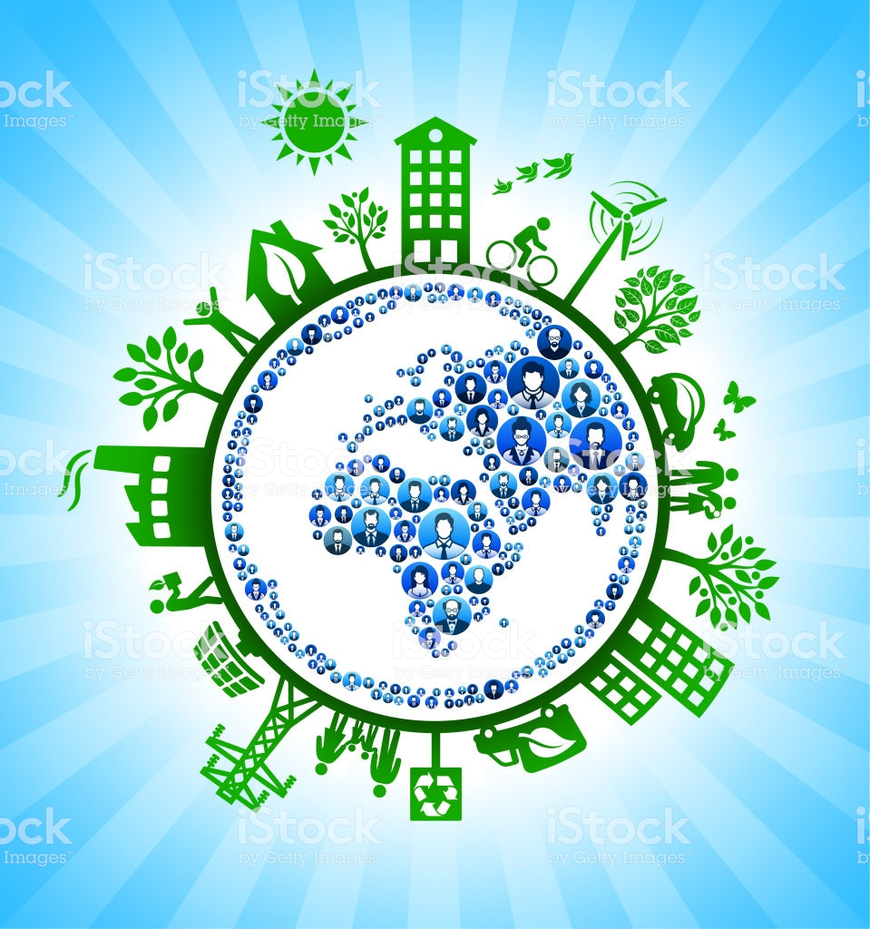 Planet Earth Business On Green Environmental Conservation 959x1024