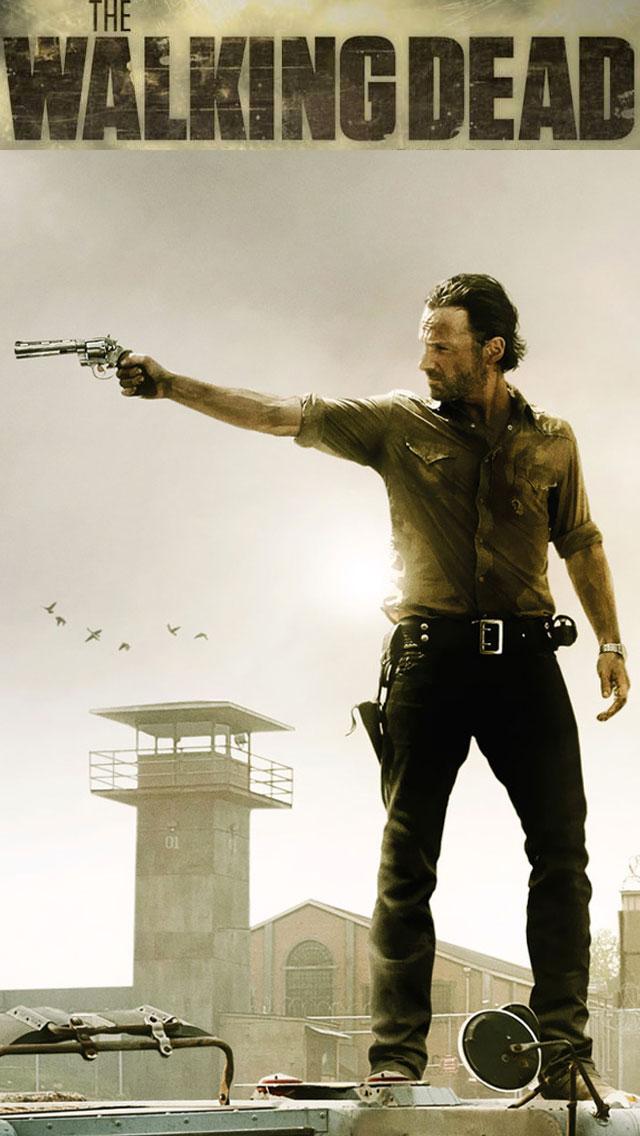 Walking Dead iPhone Wallpaper 3 640x1136